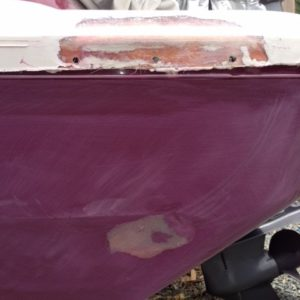 Fiberglass & Gelcoat Repair during