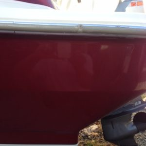 Fiberglass & Gelcoat Repair after